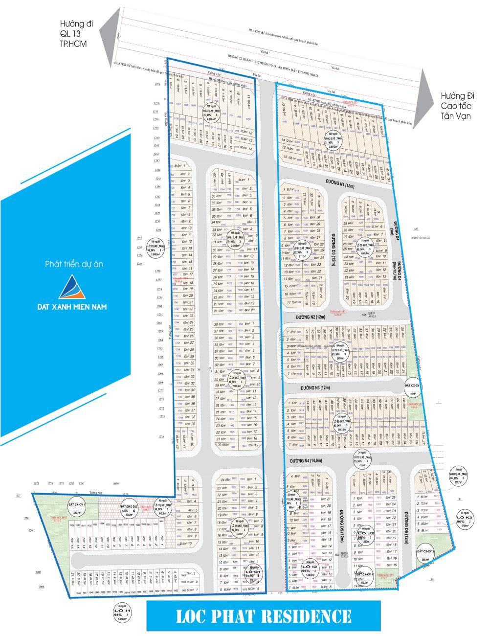 phong kinh doanh dat xanh loc phat residence mat bang